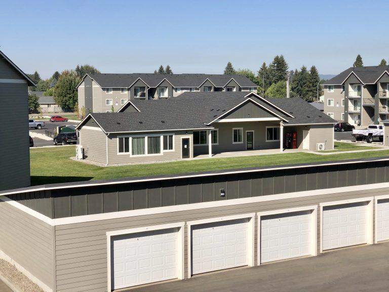Garage Aerial View