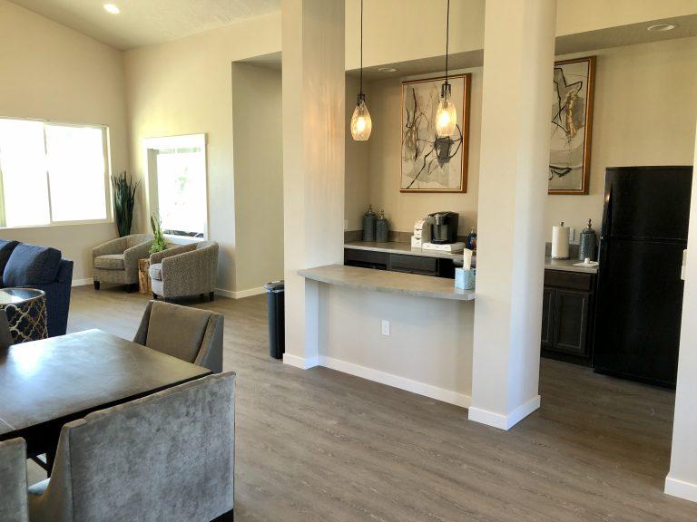 Rental Office Kitchen