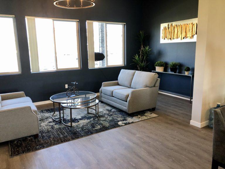 Rental Office Lounge